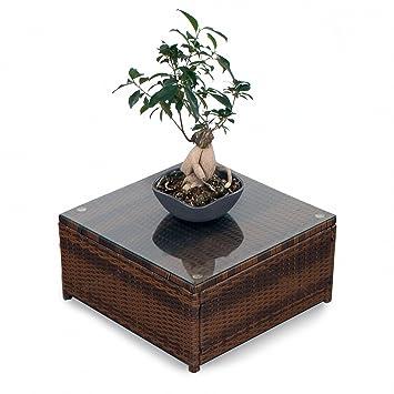 Möbel möbel braun gartenmöbel : Amazon.de: Polyrattan Lounge Möbel Tisch braun - Gartenmöbel ...