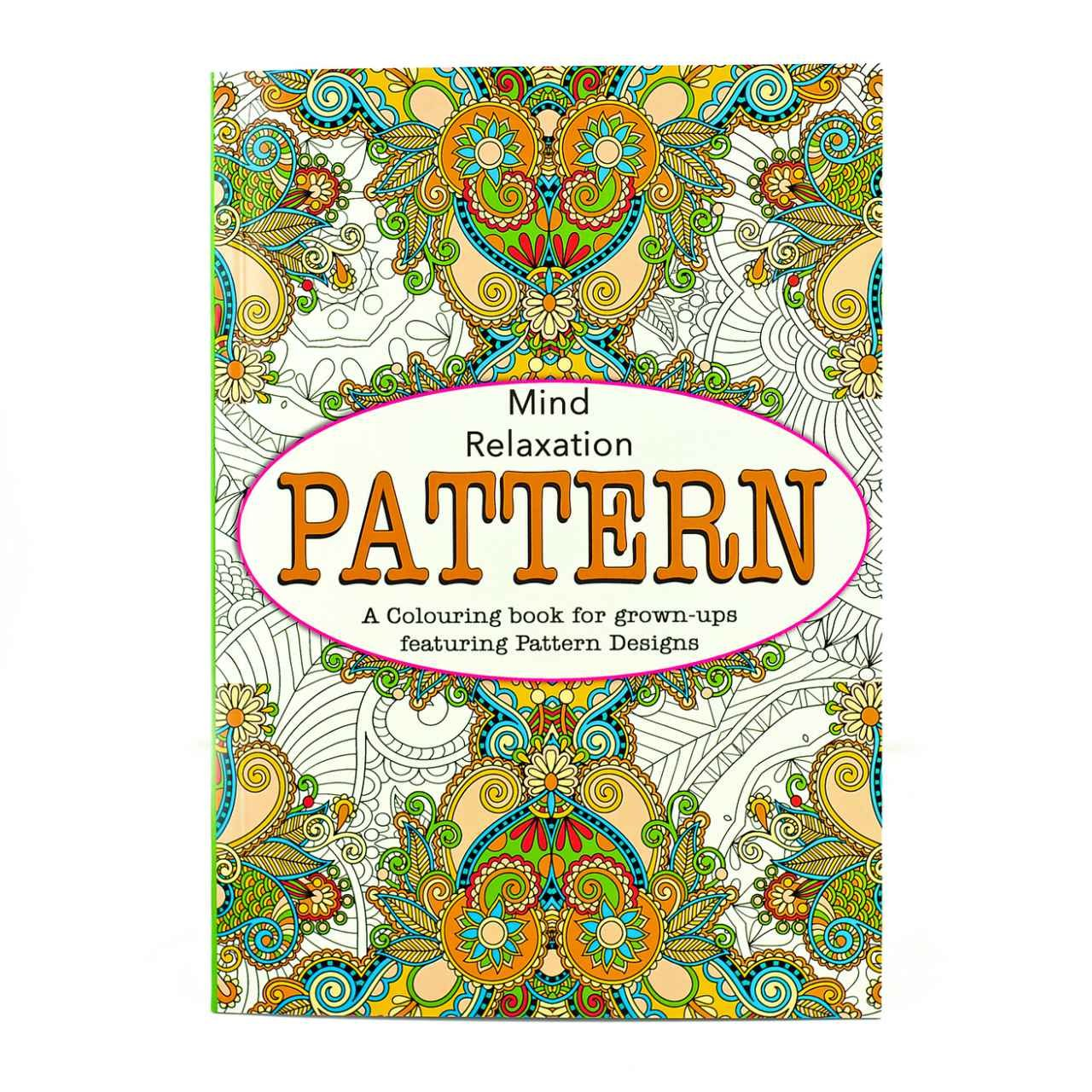Adult Colouring Therapy Anti-Stress Adult Colouring Book Relax Mind (Flowers) Martello
