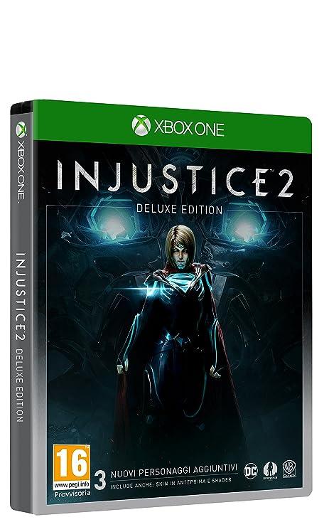 Injustice 2 - Deluxe Limited - Xbox One [Importación italiana ...