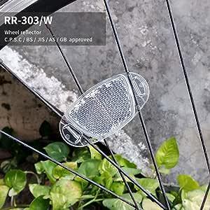 1//4PCS Universal Bicycle Bike Foot Pedal Reflector Cycle Cycling Reflectors