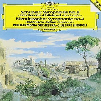 シューベルト:交響曲第8番《未完成》/メンデルスゾーン:交響曲第4番《イタリア》