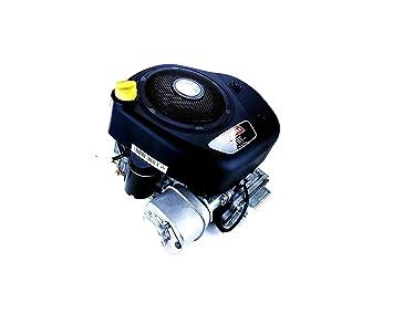Motor Briggs Stratton 344 CC salida 25,4 x 80 mm con motor de arranque para tractor cortacésped: Amazon.es: Jardín
