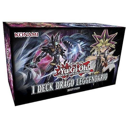 3 opinioni per Yu-gi-Oh! I Deck Drago Leggendario Yugioh 3 Mazzi ( Deck Draghi Leggendari