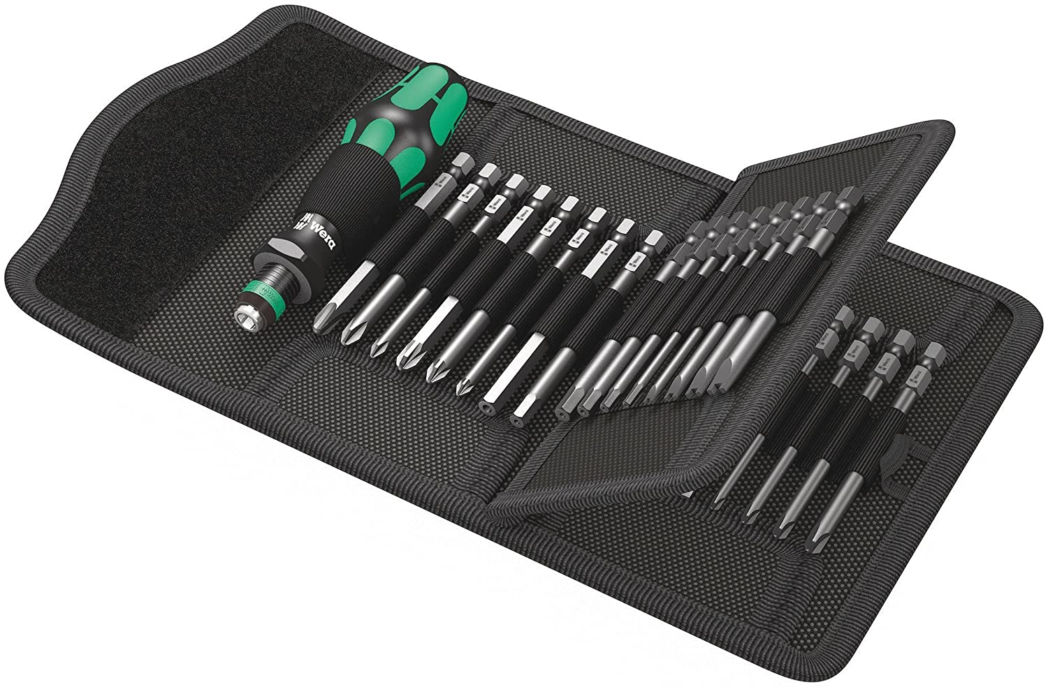 Wera Kraftform Kompakt 62 Bitholding Screwdriver and Pouch Set, 33-Pieces Wera Tools 05059297001