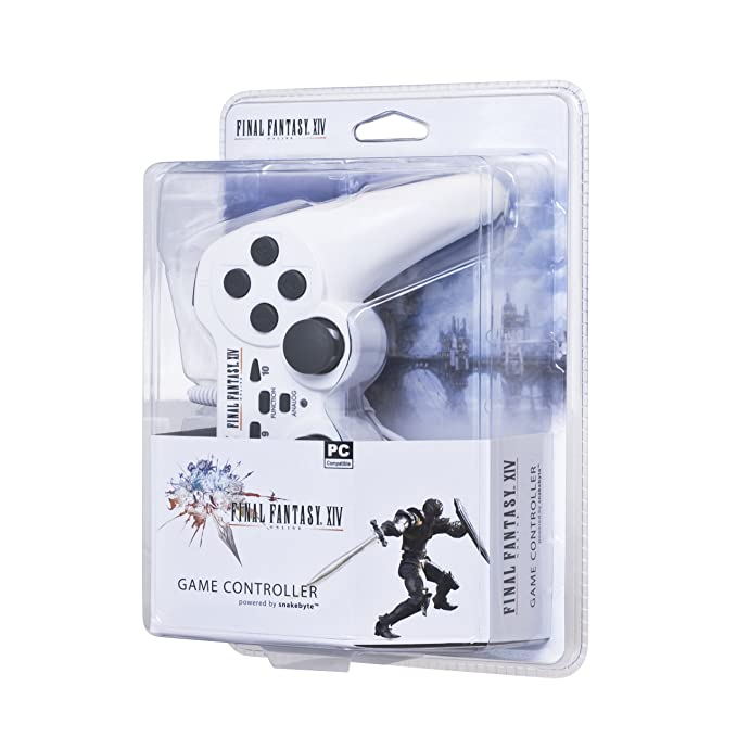Final Fantasy XIV Online USB Wired Game Controller (PC): Amazon co