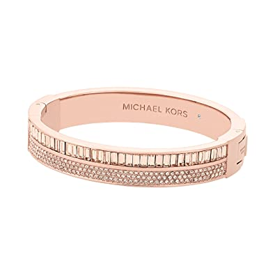 0f25aee04fd2f Michael Kors Womens Color Crush Baguette Cut Crystal Hinge Bracelet