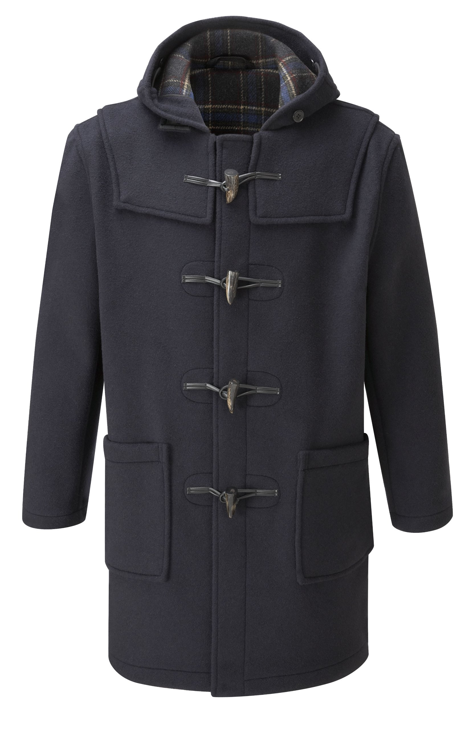 Original Montgomery Mens Duffle Coat (Size 42, Navy) by Original Montgomery