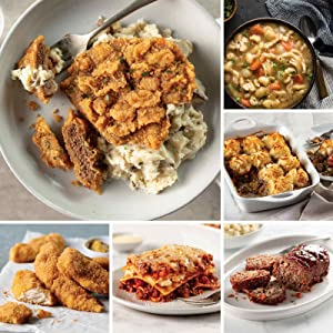 Easy Meals Sampler from Omaha Steaks (Chicken Fried Steaks, Italian Chicken Fingers, Meat Lover's Lasagna, Homestyle Meatloaf, Beef Shepherd's Pie, Slow Cooker Meal: Chicken and Dumplings, and more)