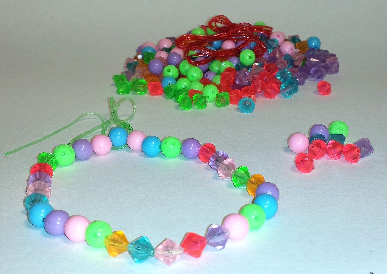Virginia Toy 29toj250 WeGlow International WGI Happy Beaded Bead Set Set of 2