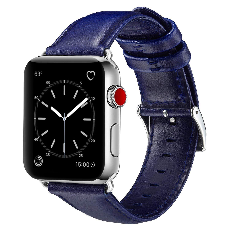 Malla Cuero para Apple Watch (38/40mm) OUHENG [799D5XJ6]