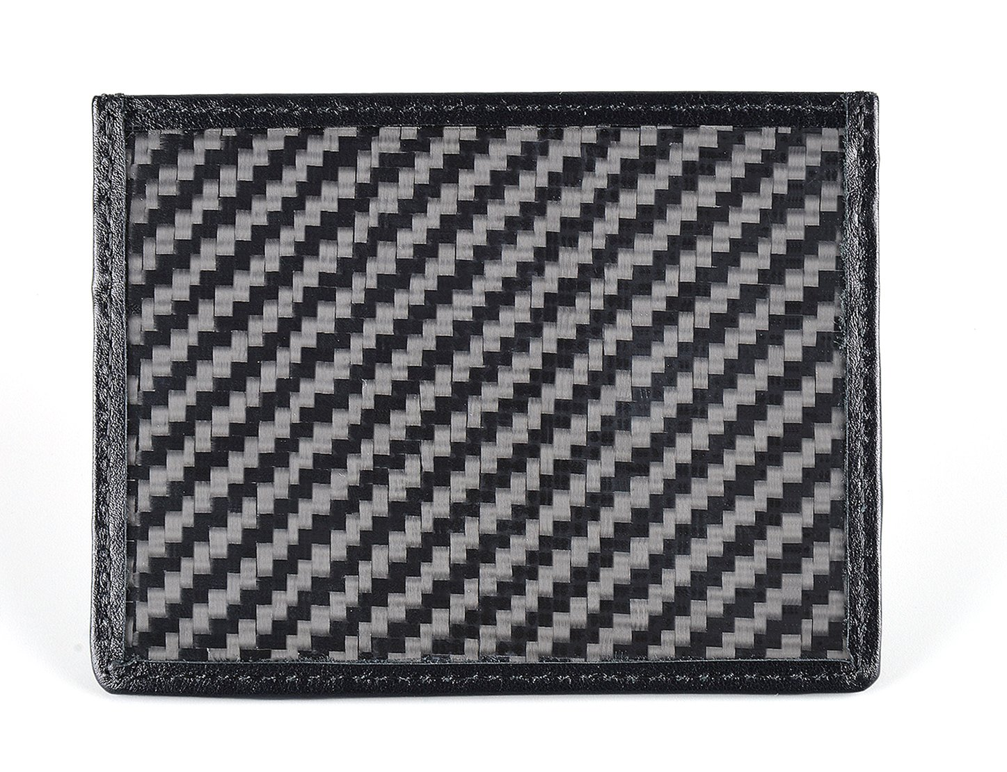 CL Carbonlife(TM) Carbon Fiber Credit Card Holder and Money Clip Wallet Simple