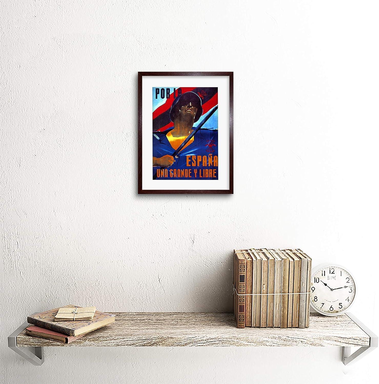F97 X 1853, Dark Oak, 9 x 7 inc - 23 x 18 cm: Amazon.es: Hogar