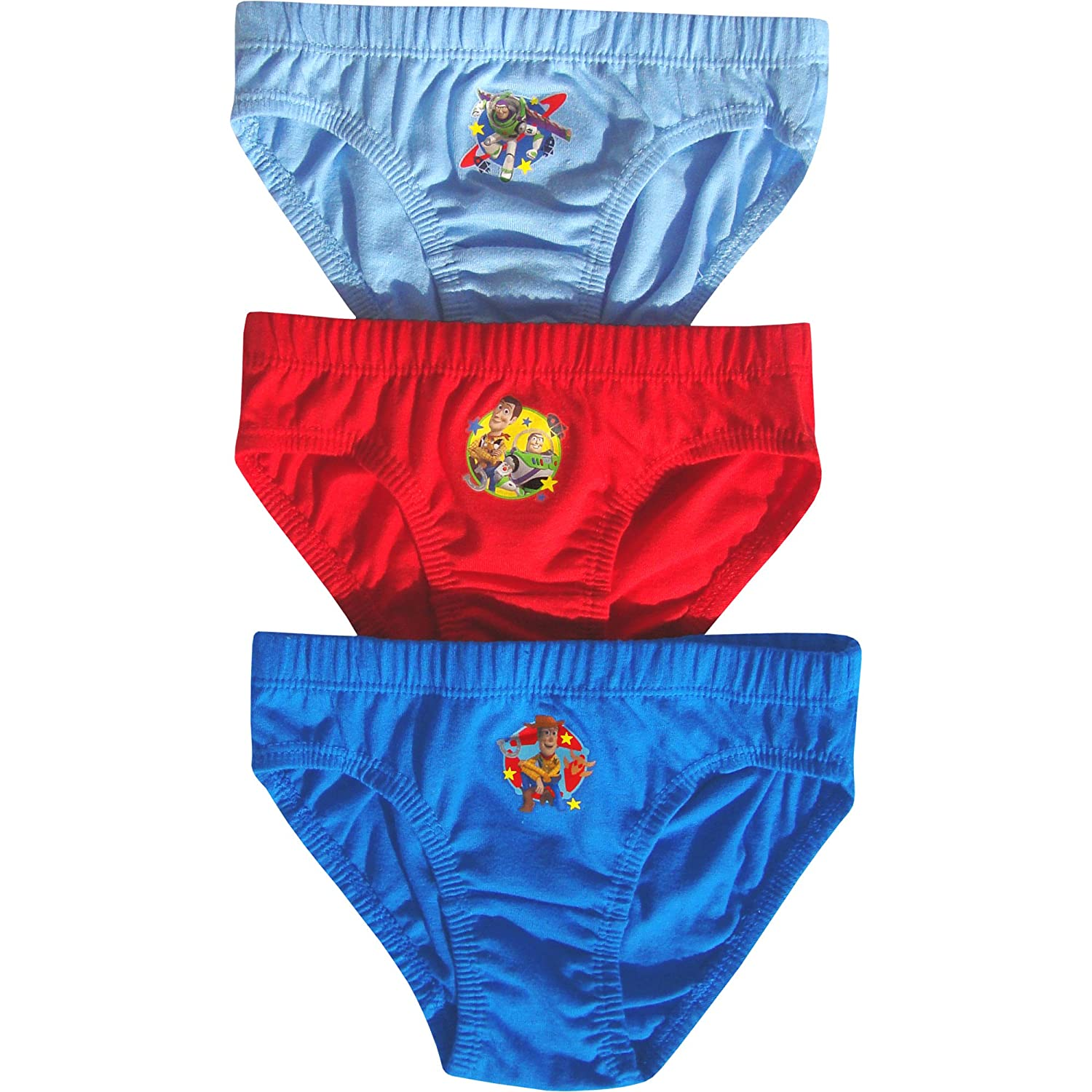 Disney Boy's Toy Story Hipster Briefs Pants Set (3 Pair Pack)
