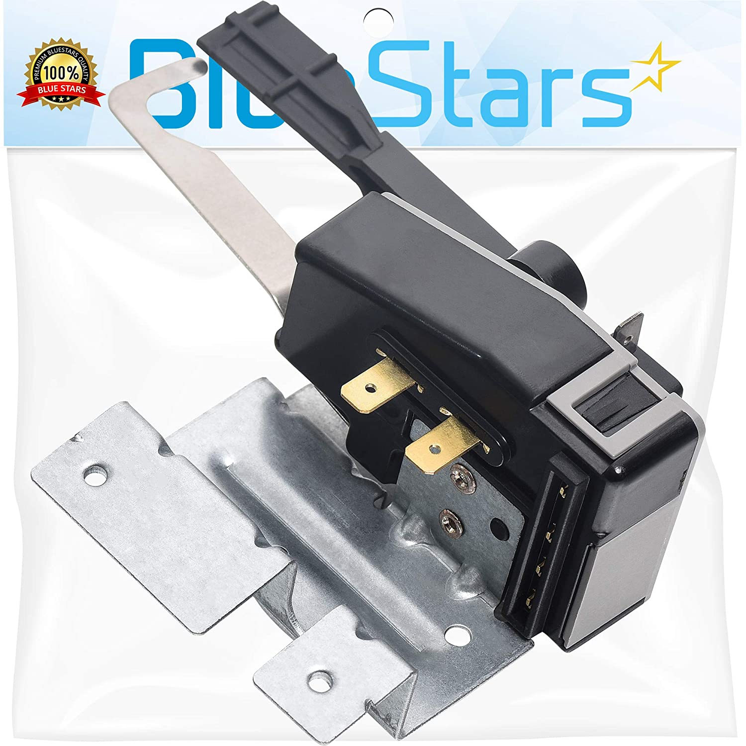 Ultra Durable 134101800 Washer Lid Lock Switch Replacement Part by Blue Stars- Exact Fit for Frigidaire Electrolux Washer - Replaces 131595100 131675600 145328