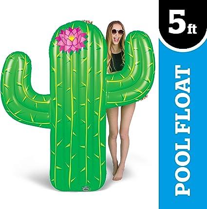Amazon.com: Bigmouth Inc Cactus gigantes Flotador de piscina ...
