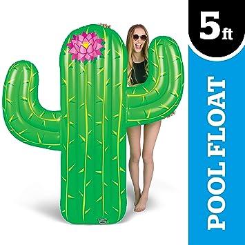 BigMouth Inc - Flotador Hinchable Cactus Gigante - Inflable ...