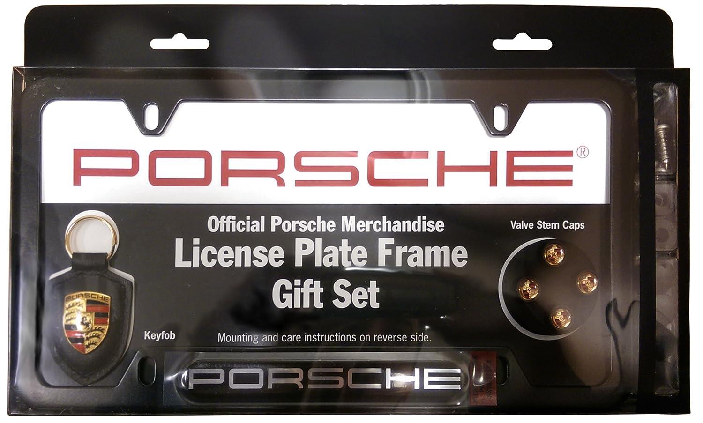 Amazon.com: Porsche License Plate Frame Gift Set: Everything Else