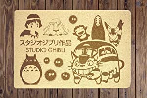 Ghibli Studio Doormat Sweet Home Supplies Décor Accessories Unique Gift Handmade Present Idea Original Design Commercial Outside Inside Personalized Quotes Exterior