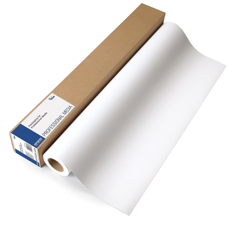 """Epson C13S042003 - Papel fotográfico (proofing papel Semimatte, 225 g/m², 30,5 m, 44"""") color blanco 44"""") color blanco"""