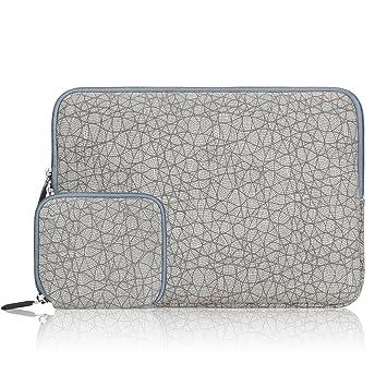 Arvok 15 15,6 Pulgadas Funda Protectora para Portátiles/Impermeable Ordenador Portátil Caso/Neopreno del Portátil Bolsa para MacBook Air/Pro/ ...