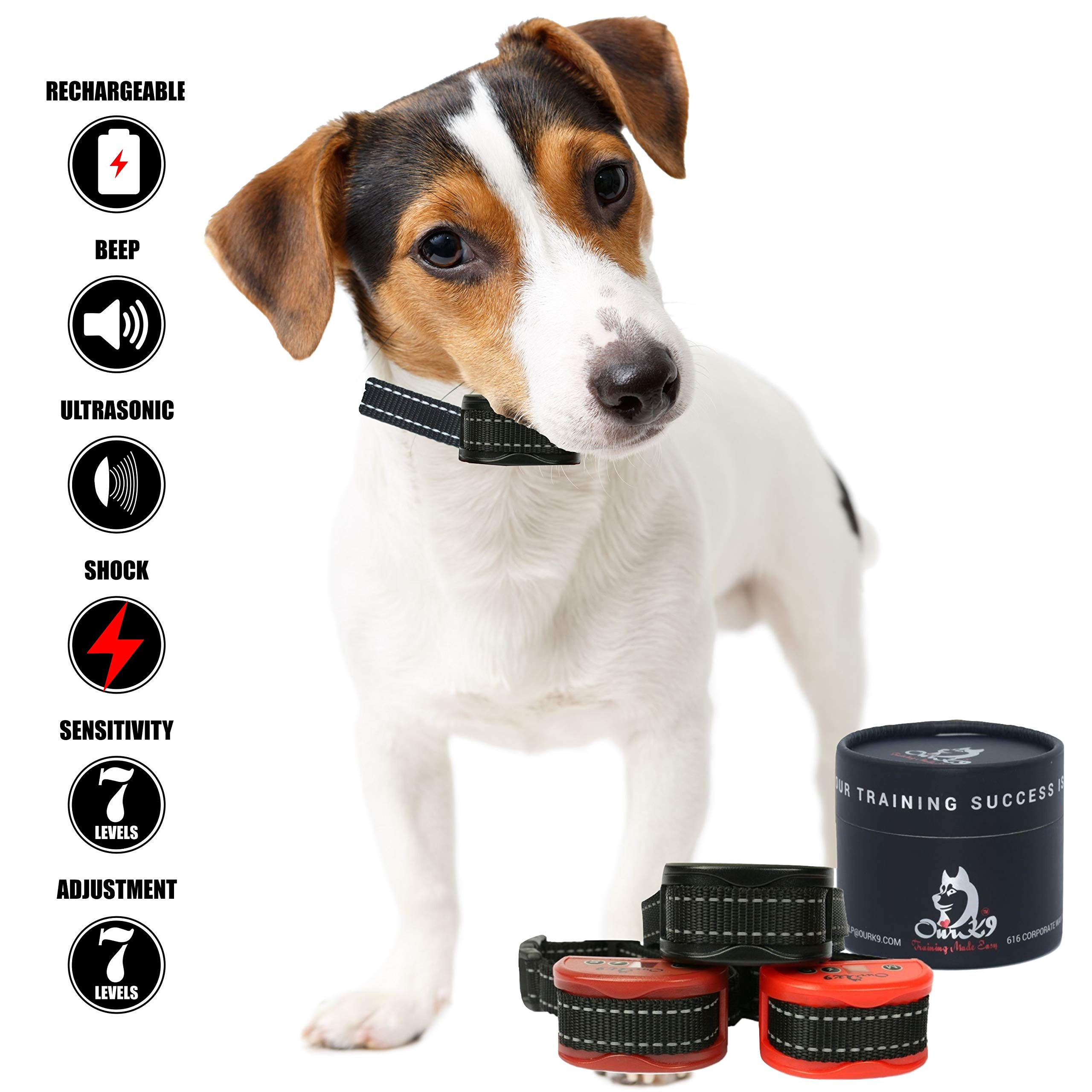 Our K9 Training Made Easy Shock Collar  for  Small Dogs -  Adjustable Shock,  Pain Free  Option Available by Our K9 Training Made Easy