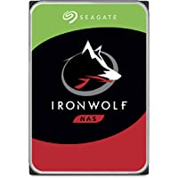 "Seagate 4 TB IronWolf Disque dur interne 3.5"" pour NAS 1-8 Bay (5900 RPM, 64 MB Cache, 180 TB/year Workload Rating, Up to 180 MB/s, Model : ST4000VNZ08/VN008)"