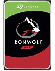Seagate IronWolf 4TB NAS Internal Hard Drive HDD – 3.5 Inch SATA 6Gb/s 5900 RPM 64MB Cache for RAID Network Attached Storage – Frustration Free Packaging (ST4000VN008)