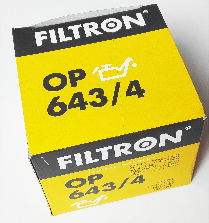 Filtron op643//3/Filtro olio