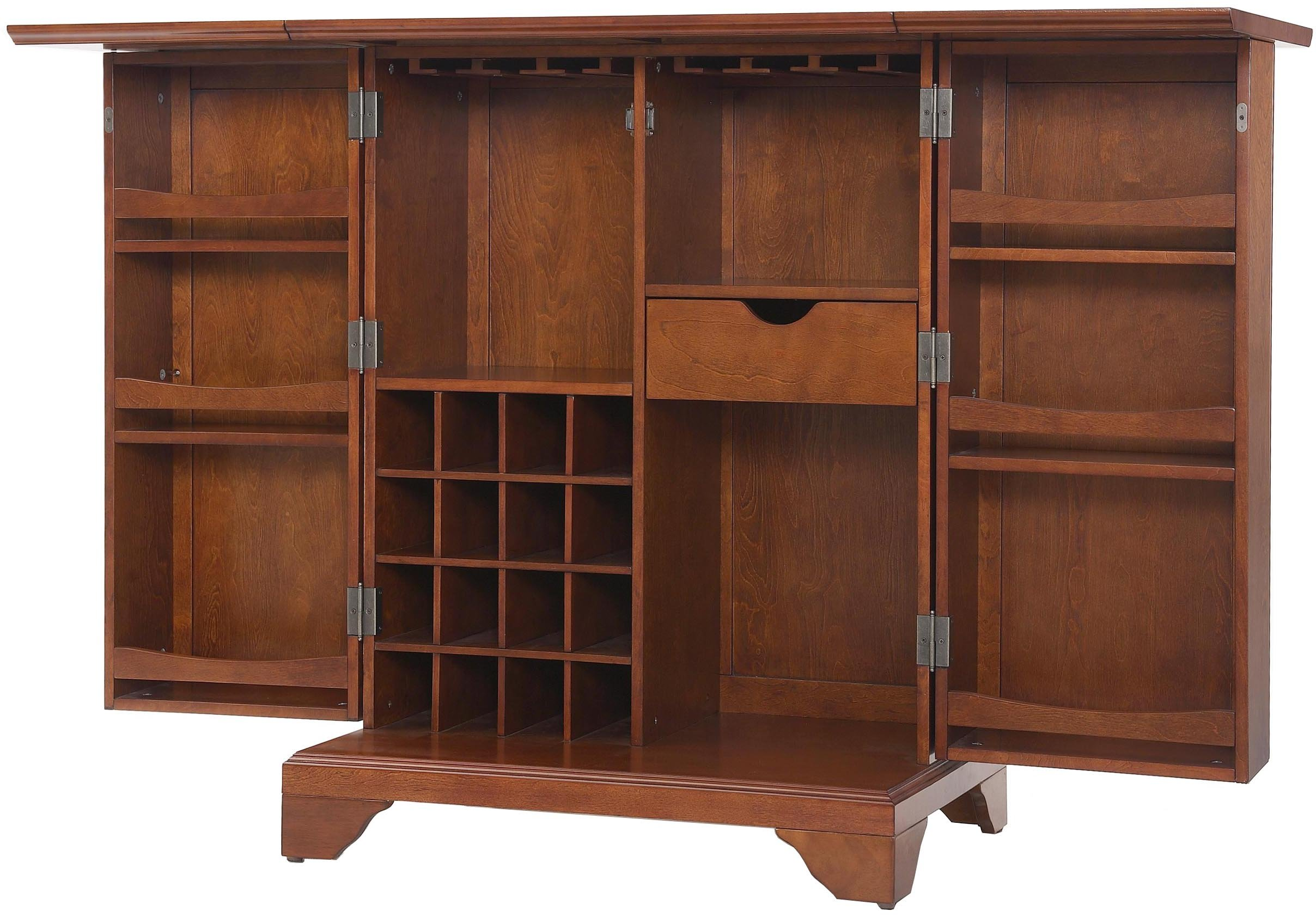 Crosley Furniture Expandable Top Bar Cabinet