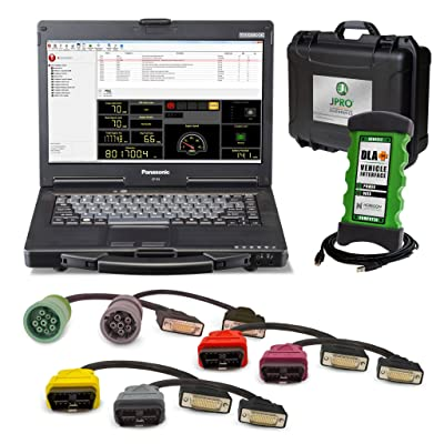 JPRO Professional heavy duty truck scan tool is a must have diagnosis device.