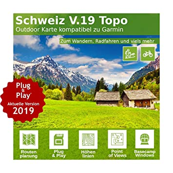 Switzerland V 18 Professional Outdoor Topo Map Topographic Map Of