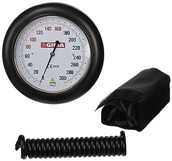 Tensiómetro Gima Modelo Dallas de pared, pulsera negro, medidor de presión Profesional, dispositivo