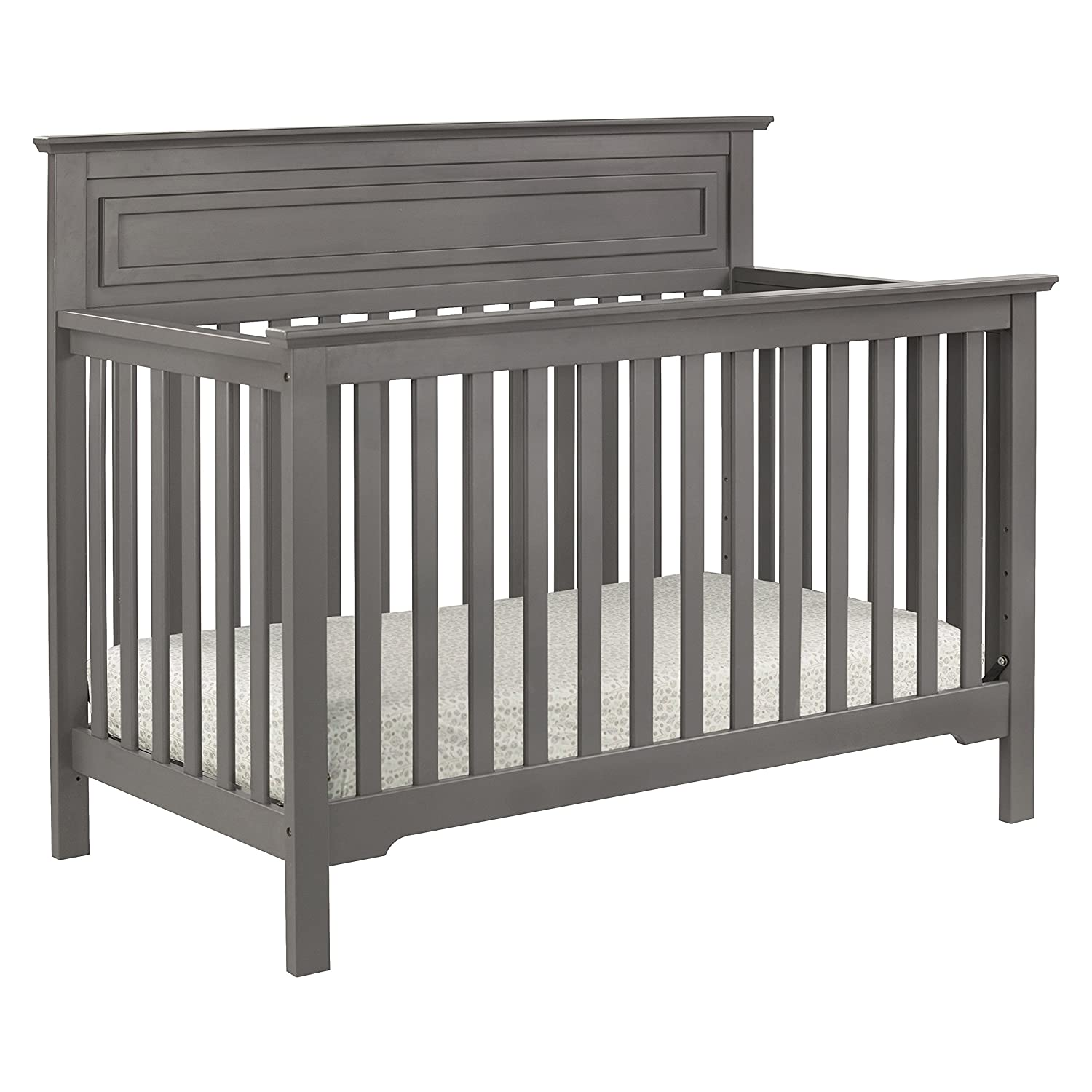 amazon com davinci autumn 4 in 1 convertible crib slate baby