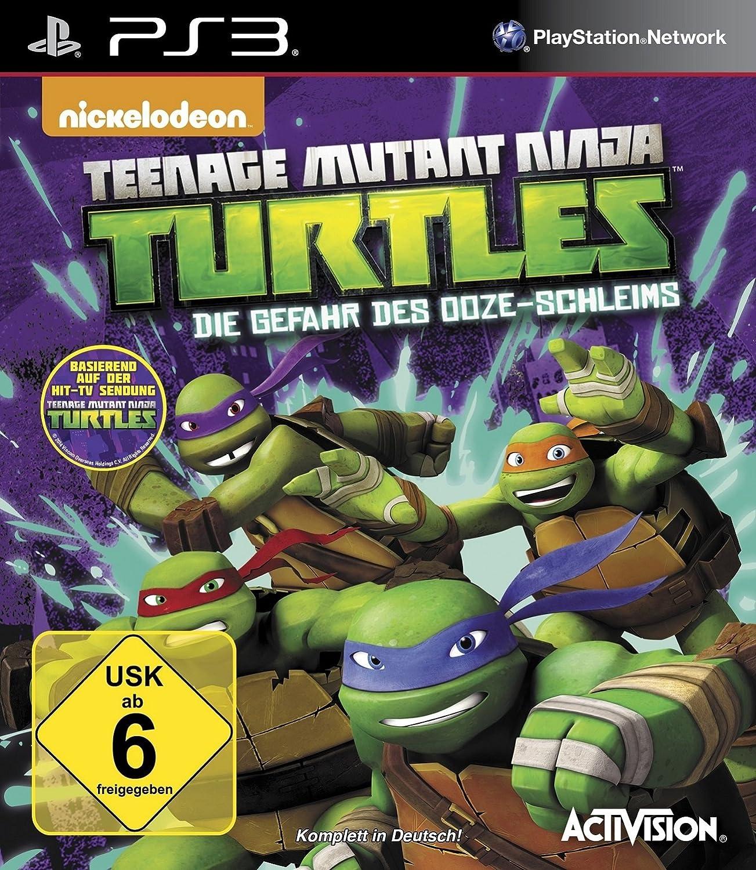 Teenage Mutant Ninja Turtles: Gefahr des Ooze-Schleims PS3 ...