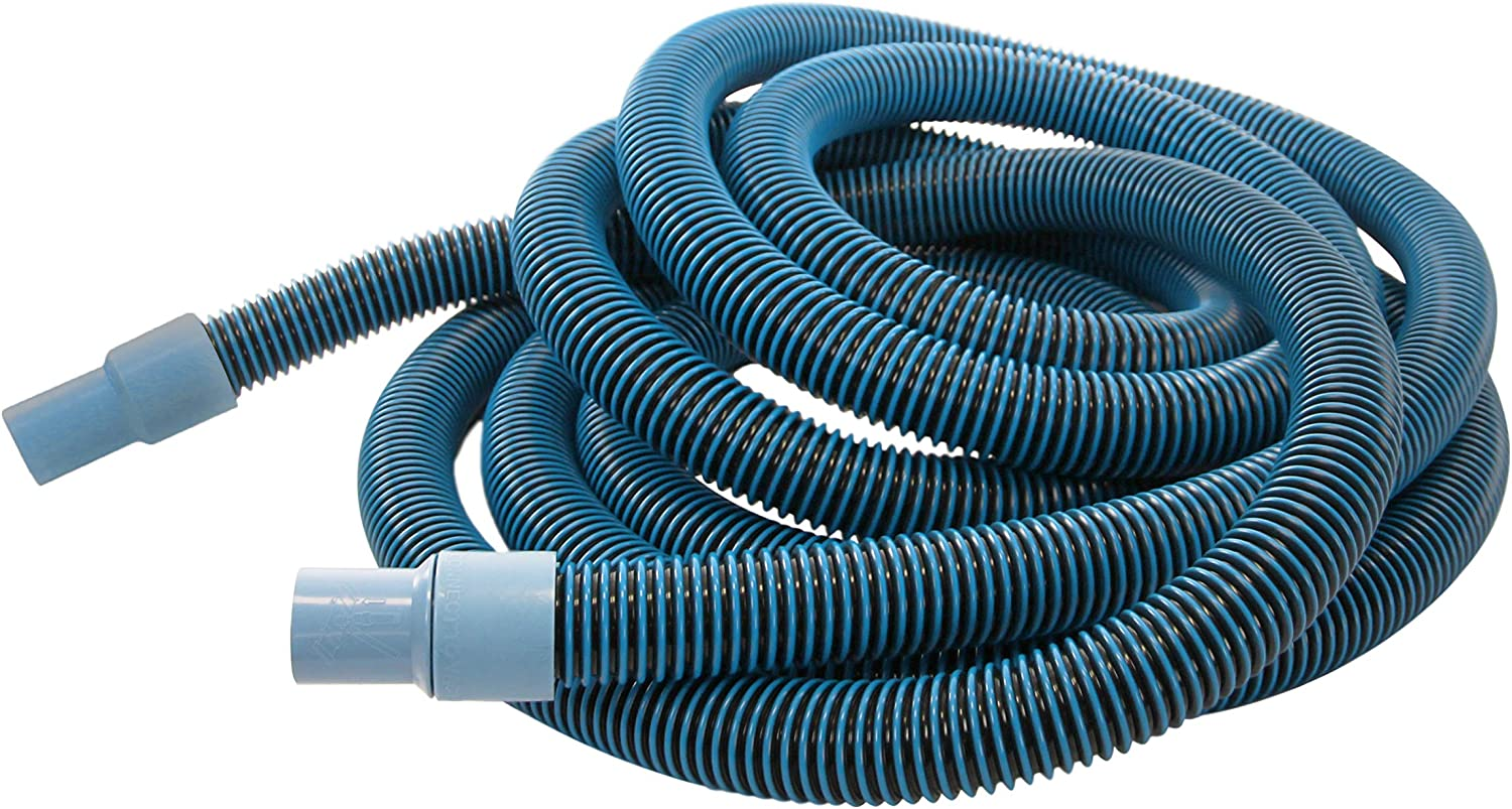 Aqua Select Premium Kink-Free Swimming Pool Vacuum Hoses with 1.5-Inch Swivel Cuff | 45-Feet Length | Hose Helper Included | Perfect for Above Ground and Inground Pools
