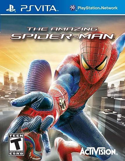 Amazon.com: The Amazing Spider-Man - PS Vita: PlayStation ...