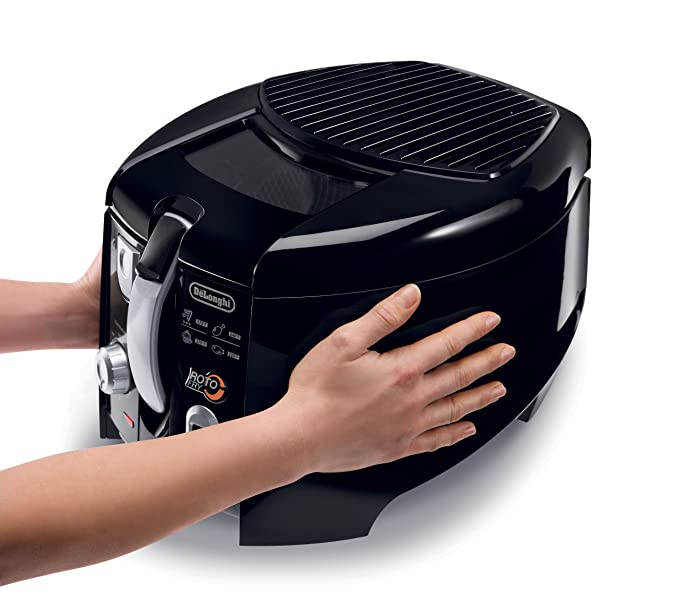 Amazon.com: DeLonghi D28313UXBK Roto freidora, color negro y ...