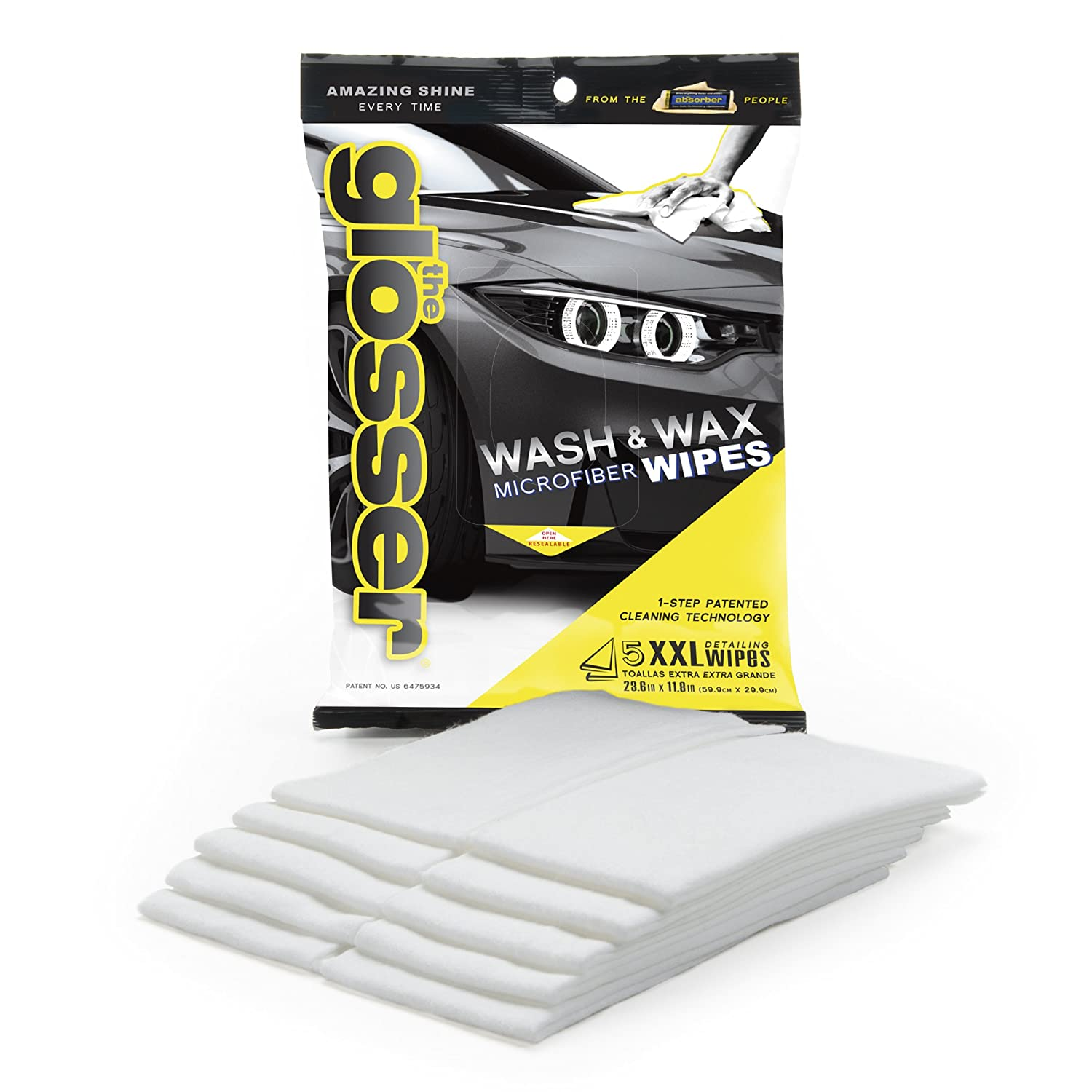 Amazon.com: CleanTools The Drying Glosser Non-Woven Microfiber Detailing Wipes, Case of 6: Automotive