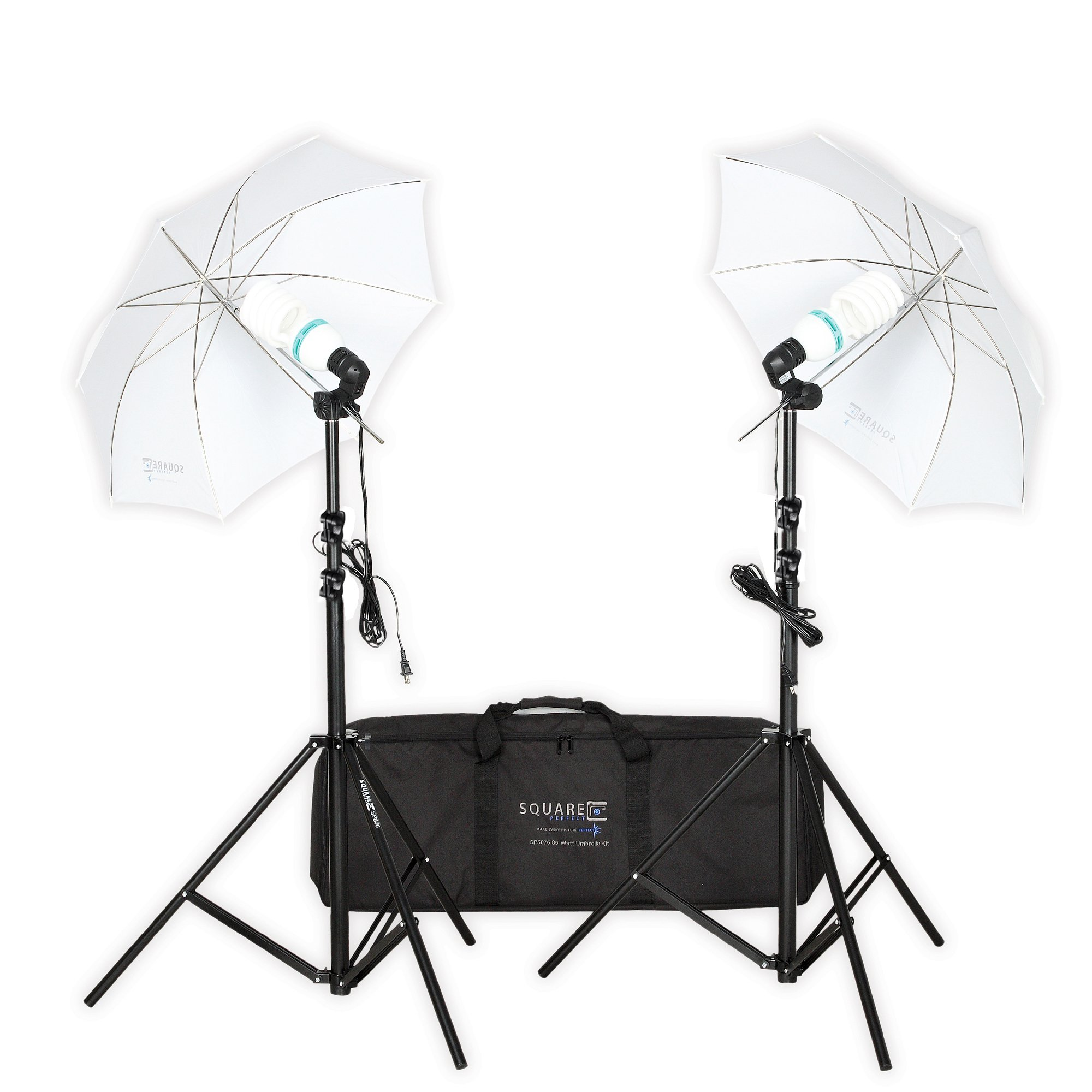 Square Perfect SP5075 85 Watt Professional Photo Umbrella by Square Perfect