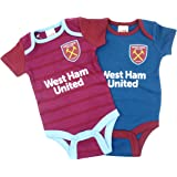 c2f1388e7a6 Me and My Grandad Support West Ham Baby Vest Hat and Bib Set ...