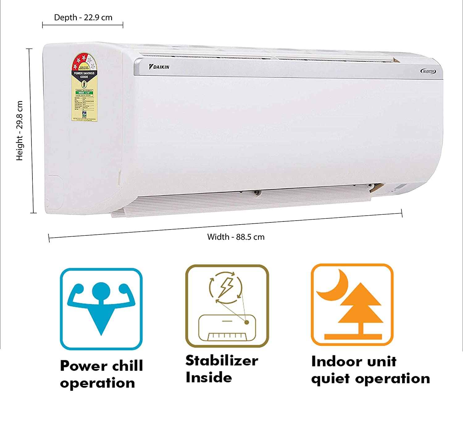 daikan inverter ac under 40000