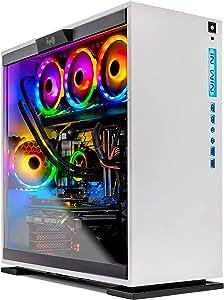 SkyTech Omega Gaming Computer PC Desktop – Intel i9-9900K 3.6GHz, 360mm AIO Liquid Cool, NVIDIA GeForce RTX 2080 Super 8G, 1TB SSD, 16GB DDR4, RGB, AC WiFi, Windows 10 Home 64-bit