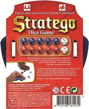 Jumbo 18127 - Stratego Dados Juego, Juegos de Estrategia: Amazon.es: Juguetes y juegos