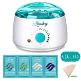 Amazon Price History for:Lansley Wax Warmer Hair Removal Home Waxing Kit Electric Pot Heater for Rapid Waxing of All Body, Face, Bikini Area, Legs with 4 Flavor Hard Wax Beans & 10 Wax Applicator Spatulas(At-home Waxing)