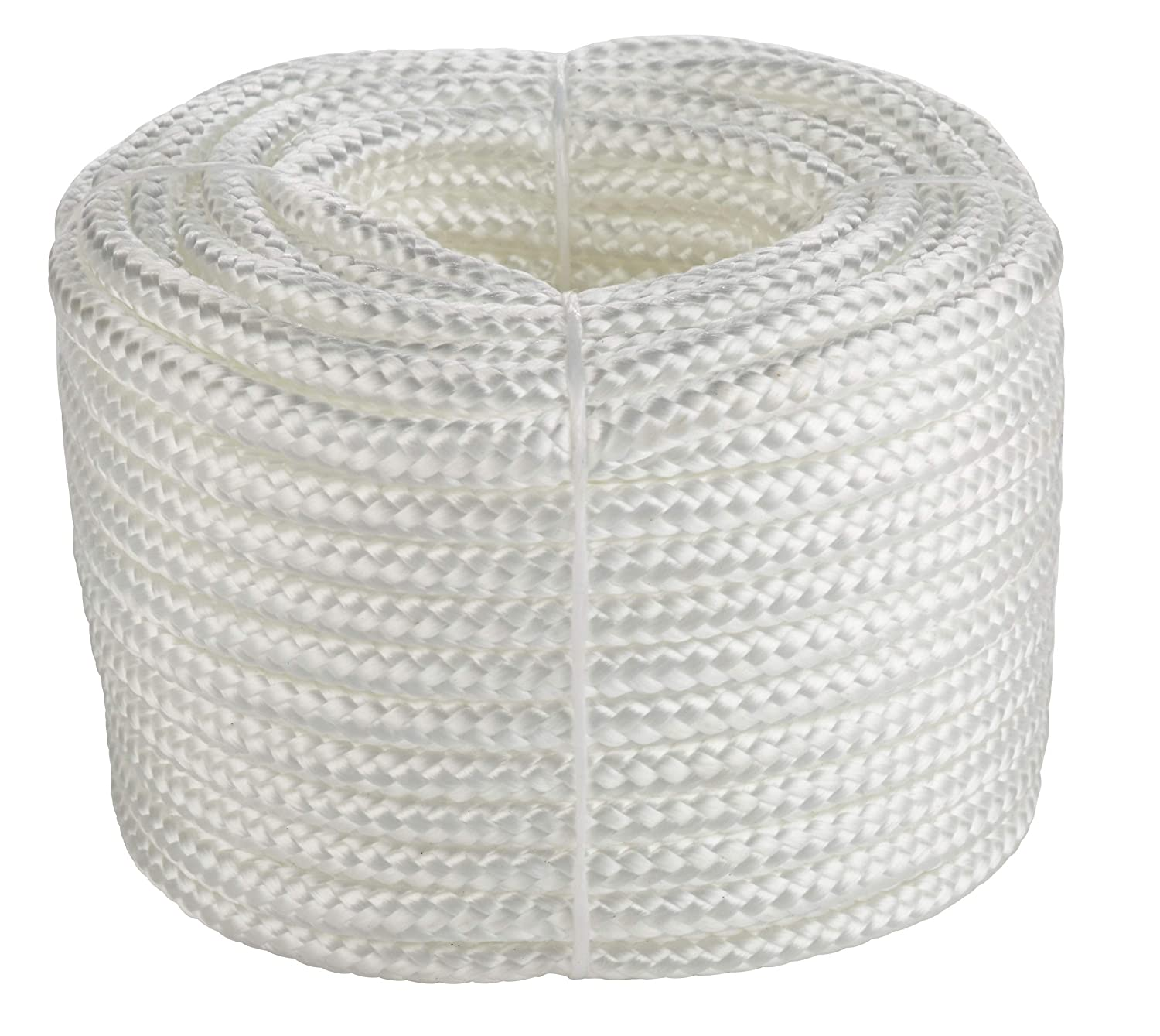 FD-Workstuff ® 20m x 6mm 16-Ply Braided Poly Rope - White FD-Workstuff ®