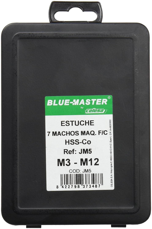 Blue-Master JM5 Estuche 7 Machos M/áquina