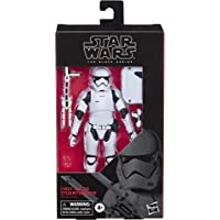 Star Wars The Black Series - First Order Stormtrooper - Figura de 15 cm de Star Wars: Los últimos Jedi
