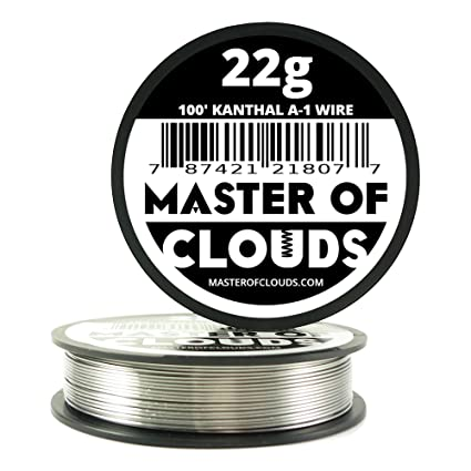 100 ft 22 gauge kanthal a1 resistance wire from master of clouds 100 ft 22 gauge kanthal a1 resistance wire from master of clouds keyboard keysfo Images