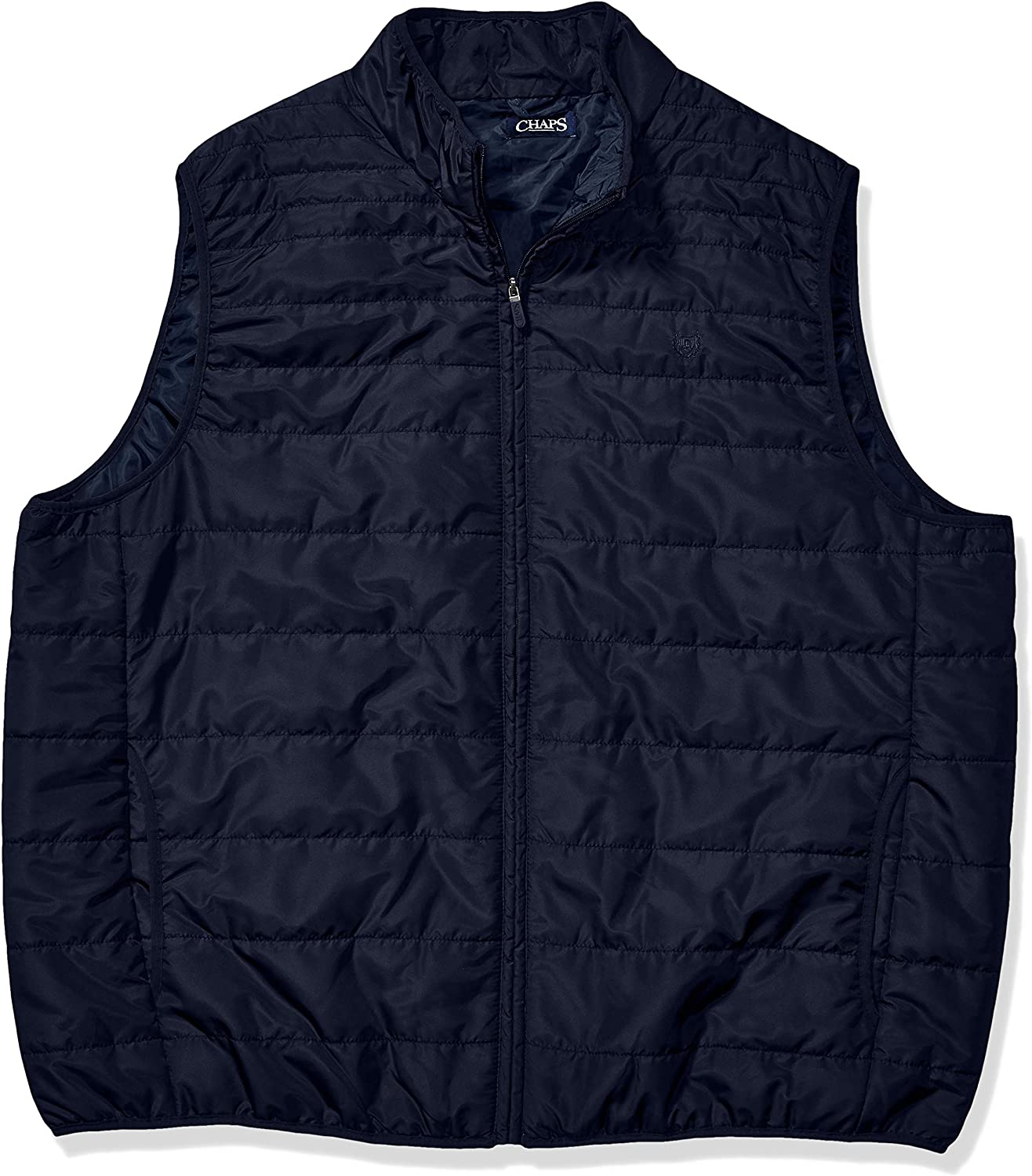 Chaps Men's Big and Tall Packable Quilted Vest