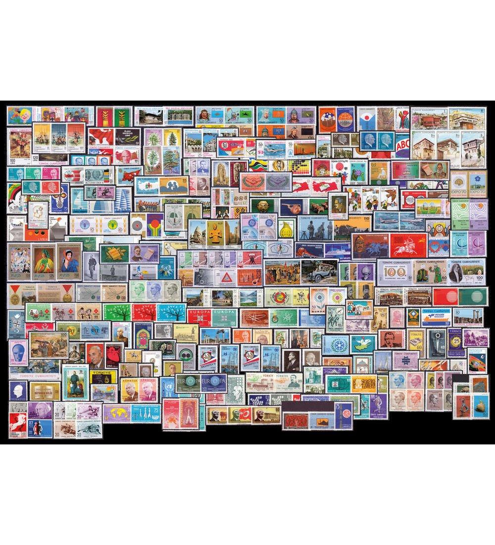 Goldhahn Türkei postfrische Kollektion Briefmarken für Sammler